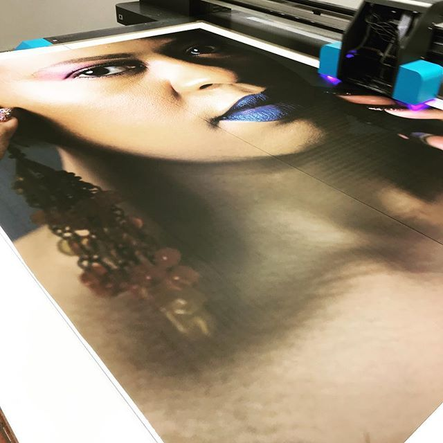 Go big or go home #brandinventors #interiorsignage #digitalprinting #uvflatbedprinter