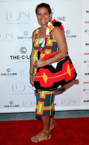 Florence Jaukae attends a the Women Empowering Women Luncheon And Fashion Show…