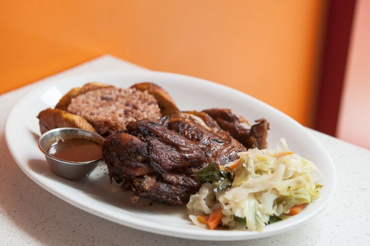 For a meal of jerk chicken, stewed goat or conch fritters you're craving, select a Jamaican restaurant from our list