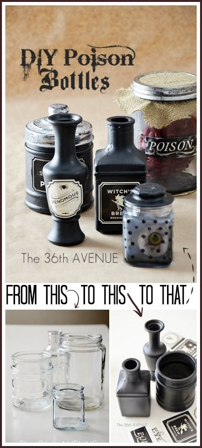 jewelry cleaning products DIY Poison Bottles