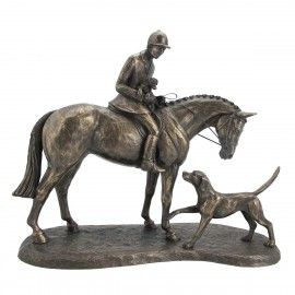 'Country Companions' Bronze designed by Harriet Glen