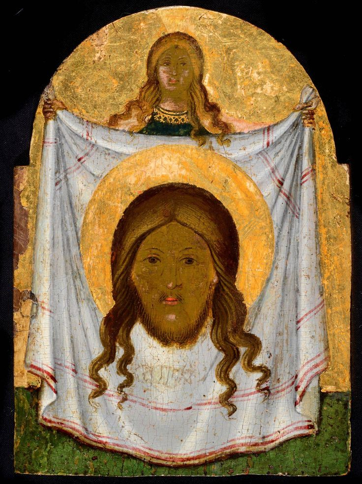 St Veronica holding the Veil - Morsink Icon Gallery