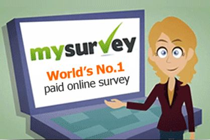 paid for your opinion. My Survey is world's no. 1 paid online survey ...