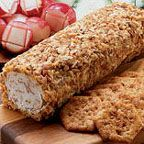 Bacon Cheese Log - Cheese logs are always a party favorite, especially with bacon in the equation! Serve with lightly salted crackers.