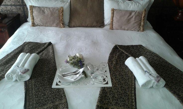 Room that Bella Casa prepared for a romantic getaway. #BellaCasa #Romanticgetaway #romance