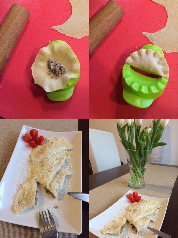 I handmade ravioli