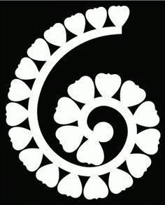 Download FREE SVG rolled flower 3 | Flower template, Flower svg ...