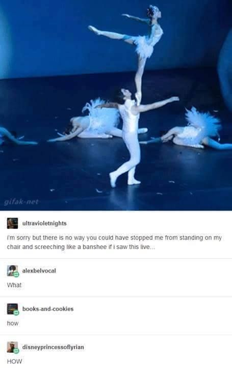 BALLET MOTHERFUCKERS   god i do love scaring people with flexibility bc ballet good night.