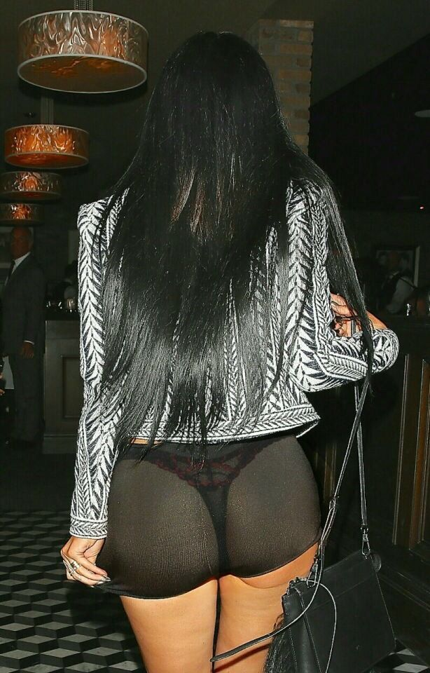 Kylie Jenner ass in thong Kylie