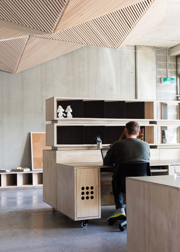 Design envy - The very impressive Northcote studio space of Assemble and Assemble Papers. Photos - Sean Fennessy
