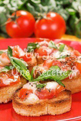 Hummm ! Billes de mozzarella au pistou : la recette du 14 août sur  Un Jour, Une Recette