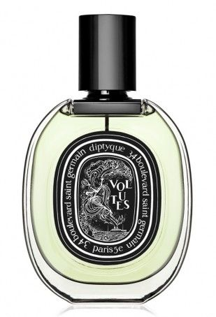 Volutes Eau de Parfum - Eaux de Parfum - Personal Fragrances | diptyque Paris. Blond, honeyed Egyptian tobacco transports you to mysterious horizons and far-off shore. Iris strengthens it, spices give it body, and styrax imposes a daring and distinguished leathery note.