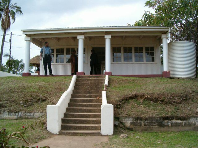 Mahatma Gandhi's house in Durban, South Africa. He began his struggle for human rights here