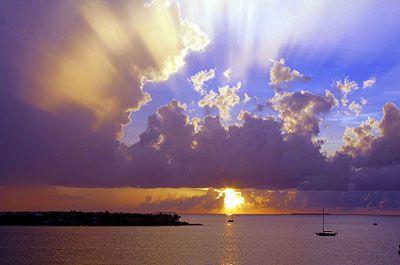 Sunset at Key West, Florida Copyright iStockPhoto.com/webmink #KeyWest #Florida #Greatplaces