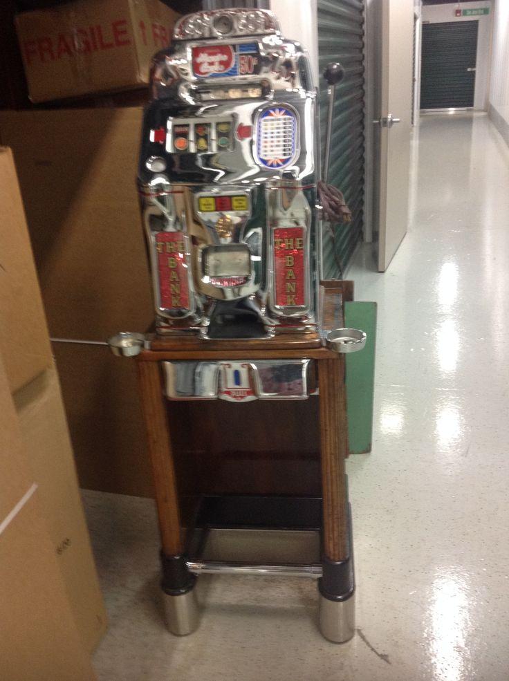 Slot machine front