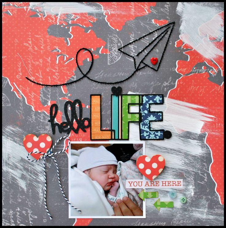 Hello Life - Scrapbook.com