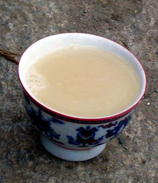How to Make Butter Tea. Hmm...so unique. I'll have to try it sometime.