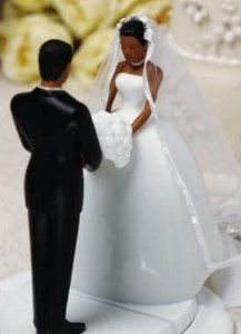 Jamie Lynn Wedding Ty Wilson Figurines Praying African American Couple Cake ToppersWedding