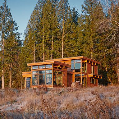 Lindal Cedar Homes  |  Dwell Prefab Sourcebook  |  Northwest (Seattle, WA)