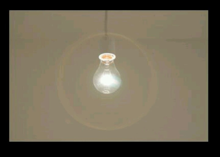 """In the """"2+2=5"""" or room 101 scene, the light was never turned out as torture. Maybe there could be a single light bulb hanging, unless you want to go with more intense light.  -Abigail"""
