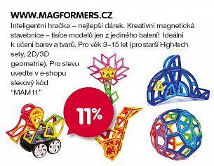 sleva Magformers.cz každoročně nakupy s maminkou