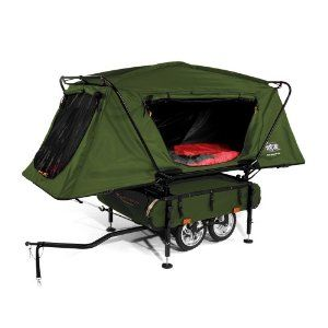 Kamp-Rite Midget Bushtrekka Bicycle Camper Trailer with Oversize Tent CotCamper Trailers, Kamp Rit, Tents, Campers Trailers, Bikes, Outdoor, Camps Trailers, Bicycles Campers, Midget Bushtrekka