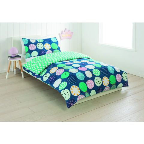Reversible Quilt Cover Set - Single Bed