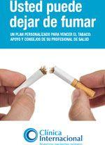 Clínica Internacional | Educación al paciente | Tabaquismo:  La nicotina causa una potente adicción. · Dejar el tabaco es difícil, pero no se rinda. Es posible dejarlo.