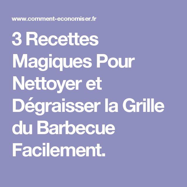 3 Recettes Magiques Pour Nettoyer et Dégraisser la Grille du Barbecue Facilement.