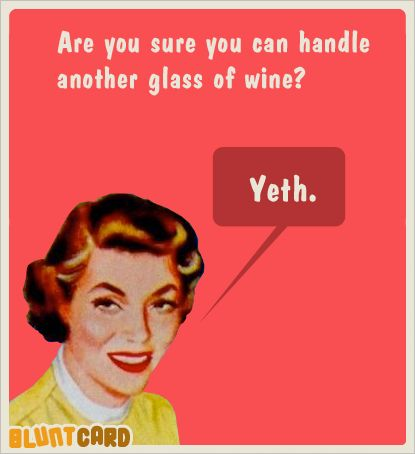 wine. blunt card. YES                                                       …