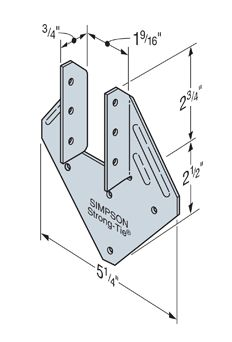 deck - Is there a correct orientation for hurricane clips? - Home ...