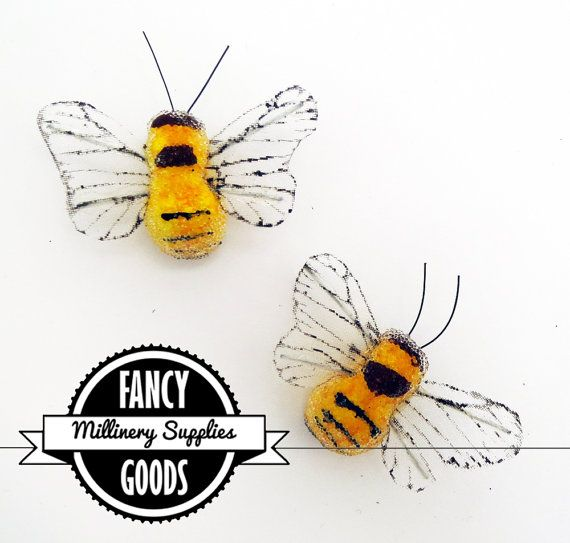 Reserved 4 large bees fake artificial insects for Artificial bees for decoration