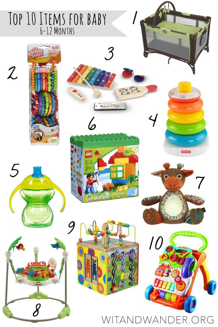 Top 10 Must Haves for Babies 612 Month Old Best baby