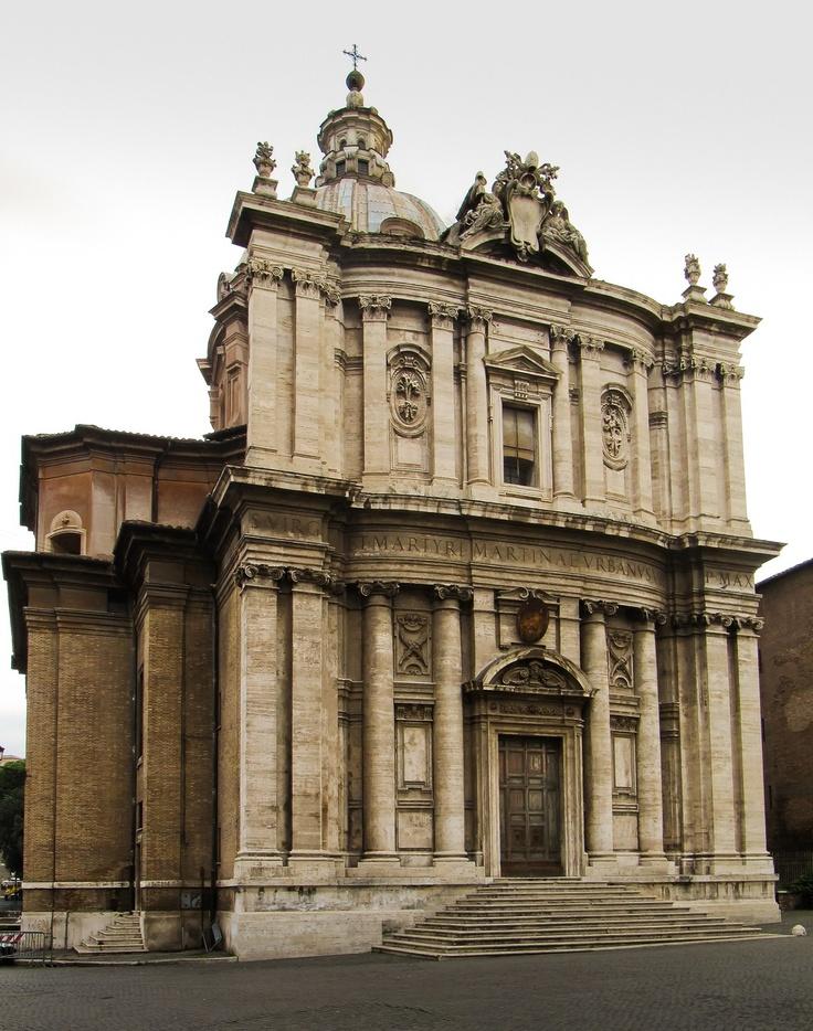 Chiesa di Santi Luca e Martina 1635-1650 - Pietro da Cortona