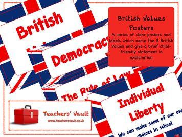 British Values Display