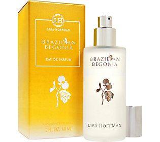 Lisa Hoffman Brazilian Begonia Eau de Parfum, 2oz