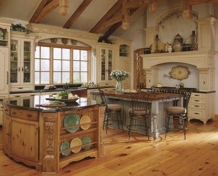 voici une id e magnifique pour le plan de travail arrondi cuisines darty en bois clair. Black Bedroom Furniture Sets. Home Design Ideas