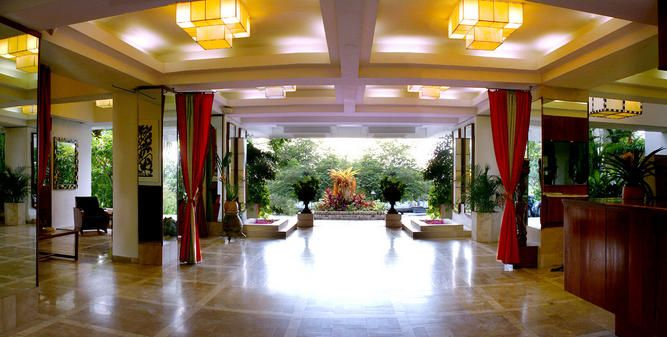 Lobby Hotel Montana, Haiti