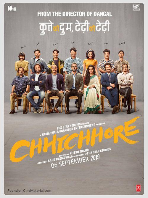 Chhichhore 2019 Hindi 1080p 720p 480p Web Hdrip X264 Aac Dd 2 0 Hbhdmovie Full Movies Download Movies Hd Movies Download