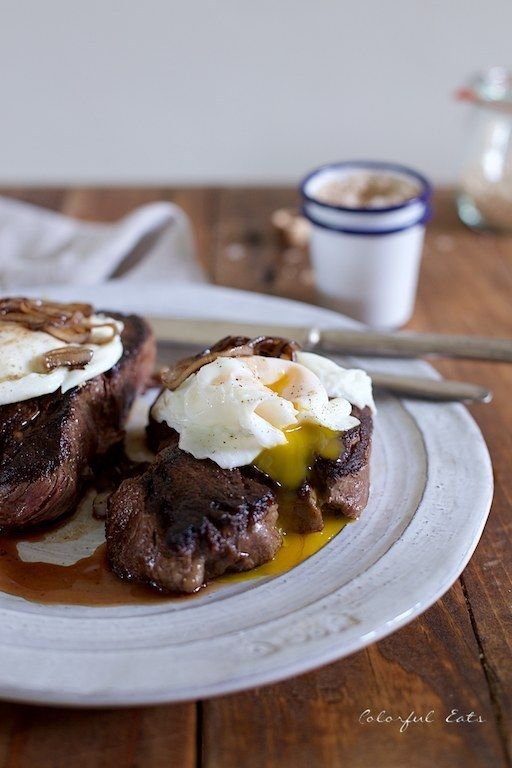 Pan-Seared Smoky Steak and Eggs