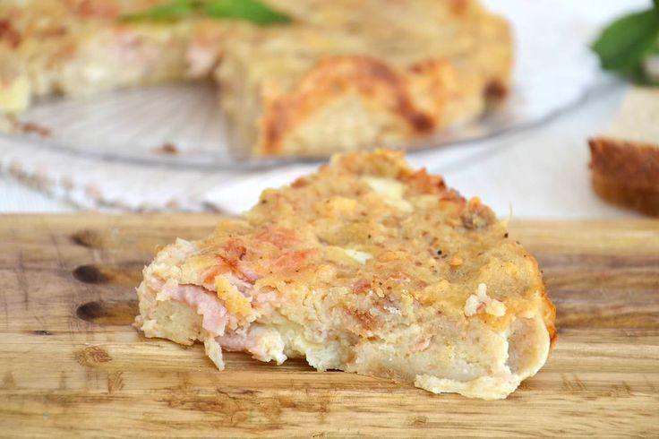 Torta di pane salata, scopri la ricetta: http://www.misya.info/ricetta/torta-di-pane-salata.htm