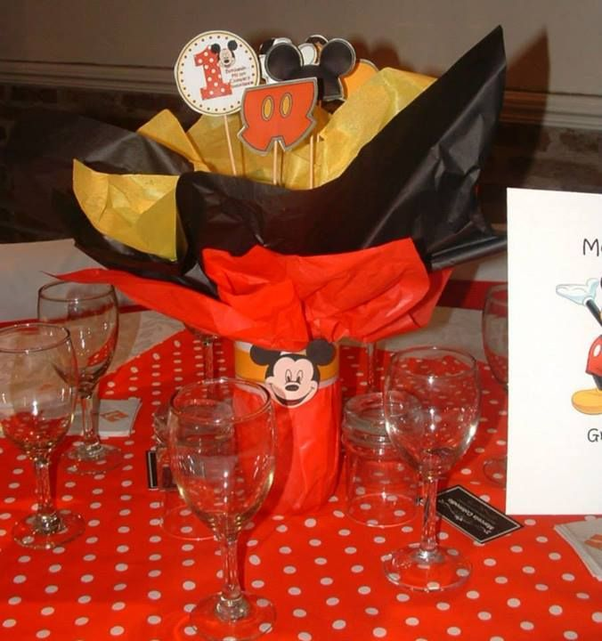 75 best ideas about centro de mesa infantiles on pinterest - Fiesta tematica mickey mouse ...