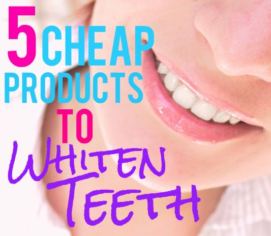 Teeth whitening products that are affordable?! Must haves!
