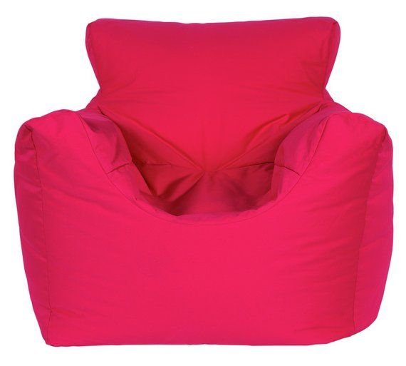 Buy ColourMatch Kids Funzee Bean Bag Chair - Pink at Argos.co.uk, visit Argos.co.uk to shop online for Beanbags, Home furnishings, Home and garden