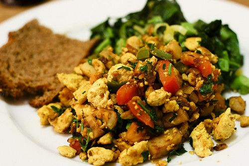 Scrambled Tofu With Collards And Turmeric Recipes — Dishmaps
