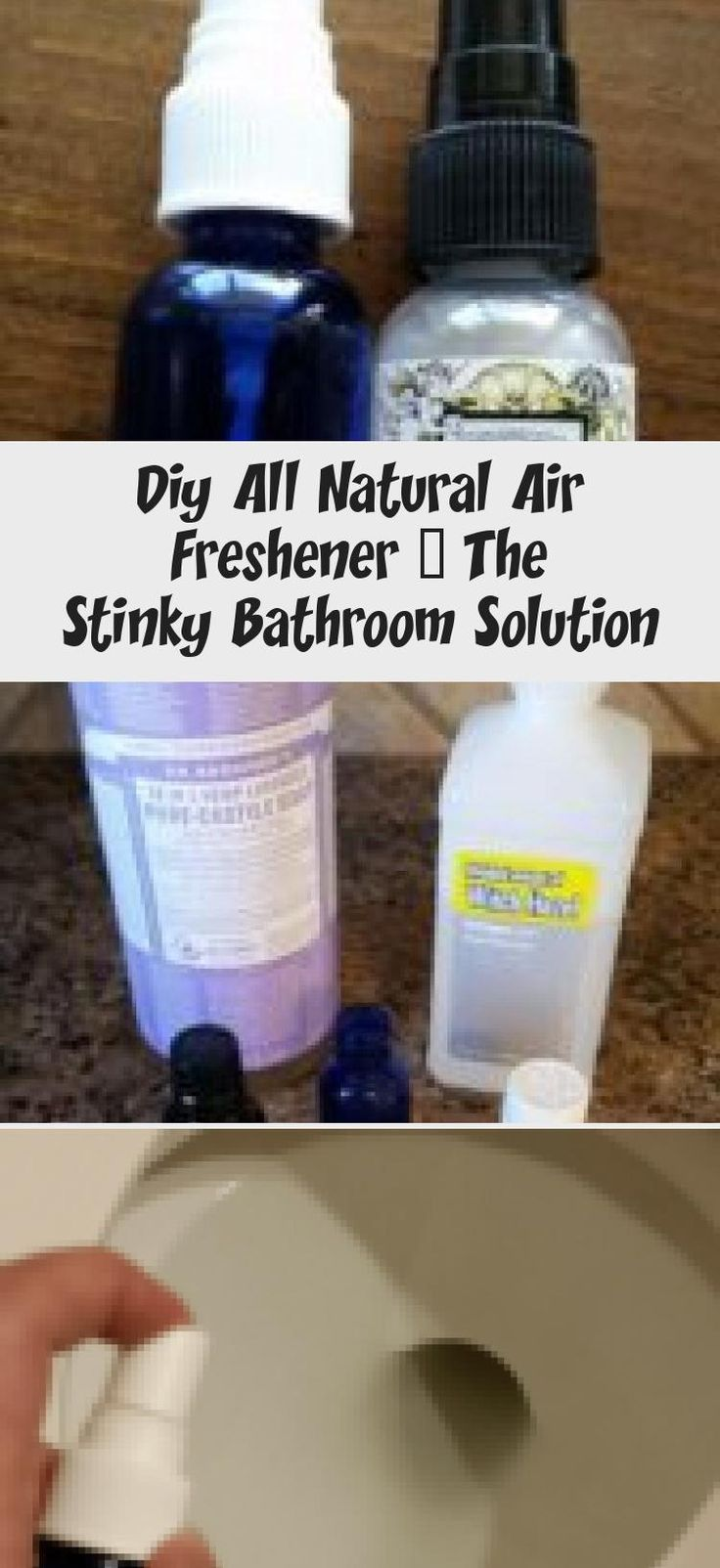 Diy All Natural Air Freshener The Stinky Bathroom