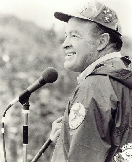 I am especially grateful for the sacrifices made by Bob Hope to entertain our troops.  He gave up Christmas at home to be with those who needed something to laugh about.  Thank you Mr. Hope.  Thanks for the memories.