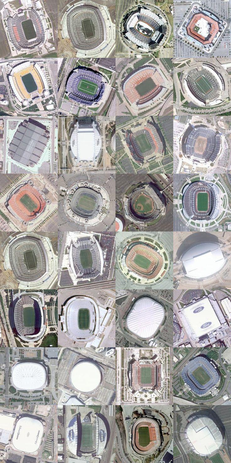 Visit every NFL Stadium