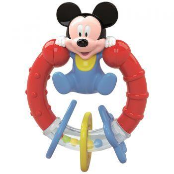 Jucarie interactiva Baby Clementoni Zornaitoare Mickey Mouse
