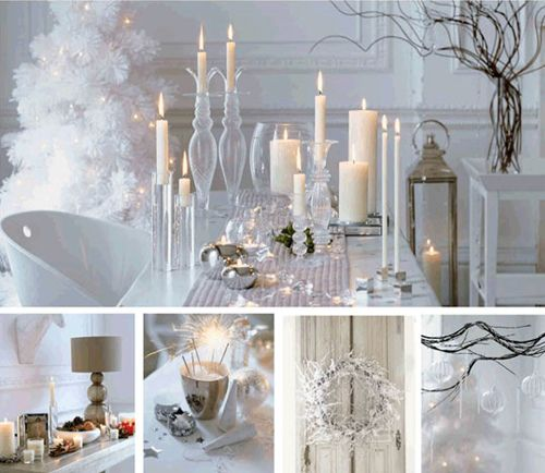 Perfect Christmas White Decoration Ideas Are Very Extremely Unique And Rare, They  Gives Your House A Light And Airy Feeling Full Of Depth And Dimension Of  Winter ...